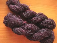 Heathered Purple Polwarth