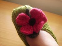 Flowery Slipper